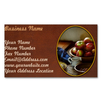 Food - Fruit - Ready for breakfast Magnetic Business Card