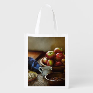Food - Fruit - Ready for breakfast Reusable Grocery Bag
