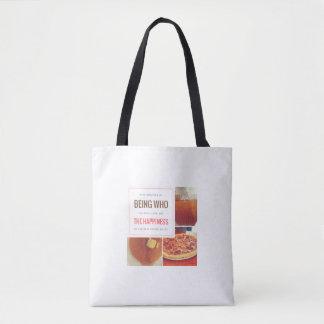 FOOD = HAPPINESS TOTE BAG