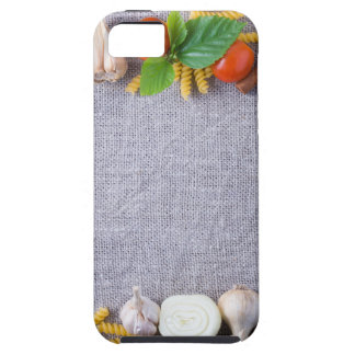 Food ingredients are installed as a frame case for the iPhone 5