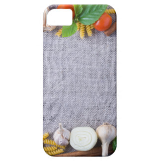 Food ingredients are installed as a frame iPhone 5 cases