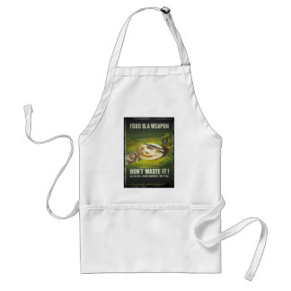 Food is a Weapon Don't Waste Standard Apron