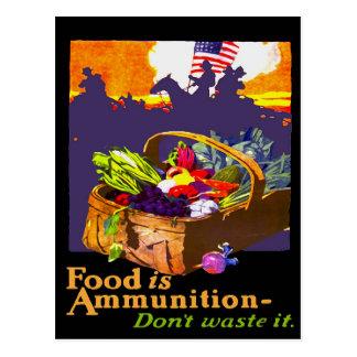 Food is Ammo Postcard