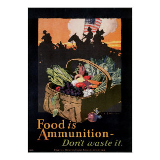 Food is Ammunition! Poster