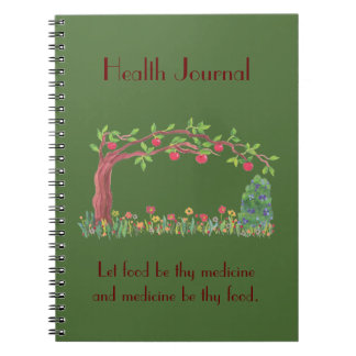 food jounral notebooks