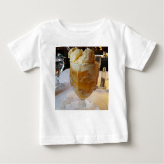 Food Lovers Peach Sundae Baby T-Shirt