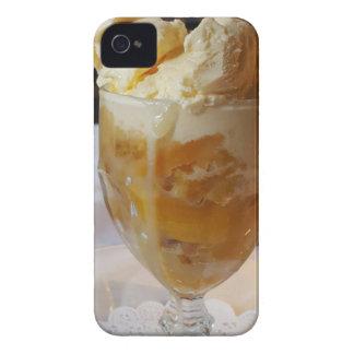 Food Lovers Peach Sundae iPhone 4 Covers