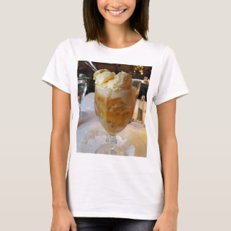 Food Lovers Peach Sundae T-Shirt