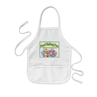 food Making Fun with The Peek-A-Boo Crew Kids Apron