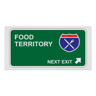 Food Next Exit Poster