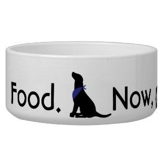Food. Now, please.