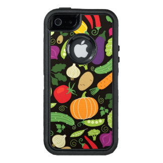 Food on a black background OtterBox iPhone 5/5s/SE case