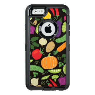 Food on a black background OtterBox iPhone 6/6s case