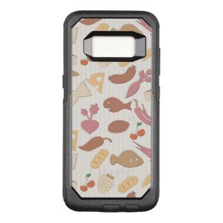 Food Pattern 2 2 OtterBox Commuter Samsung Galaxy S8 Case