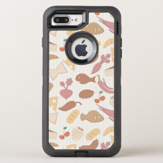 Food Pattern 2 2 OtterBox Defender iPhone 7 Plus Case