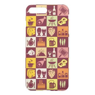 Food Pattern 3 iPhone 7 Plus Case