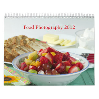 Food Photography 2012 Wall Calendars