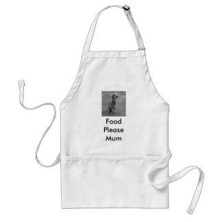 Food Please Mum Standard Apron