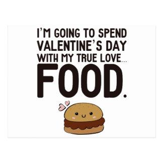 FOOD! POSTCARD