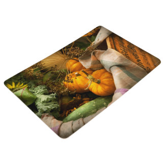 Food - Pumpkin - Summer still life Floor Mat
