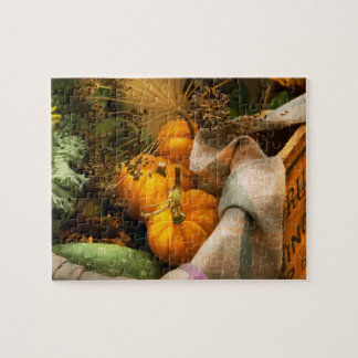 Food - Pumpkin - Summer still life Jigsaw Puzzle