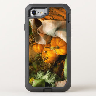 Food - Pumpkin - Summer still life OtterBox Defender iPhone 8/7 Case