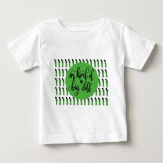 "Food pun ""IM KIND OF A BIG DILL"" Baby T-Shirt"