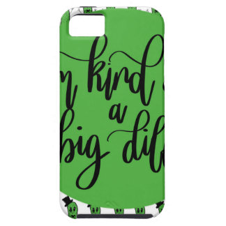 "Food pun ""IM KIND OF A BIG DILL"" iPhone 5 Case"