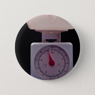 Food scale for weighing food 2 inch round button