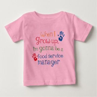 Food Service Manager (Future) Child Baby T-Shirt