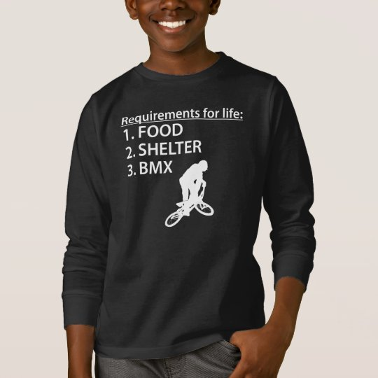 Food Shelter BMX T-Shirt