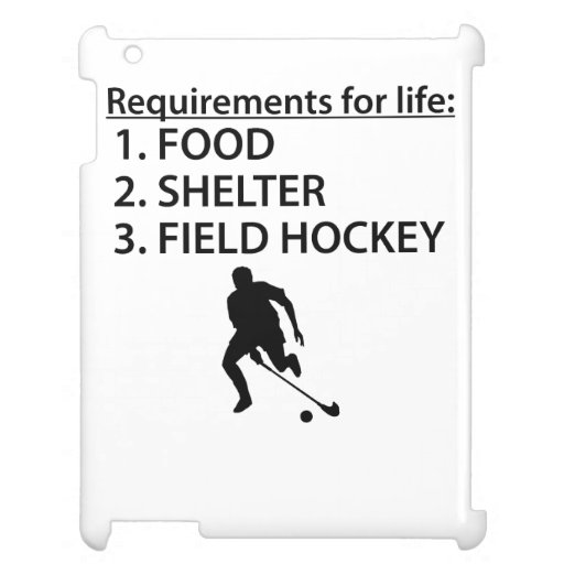 Food Shelter Field Hockey Case For The iPad