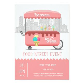 Food street ice cream card