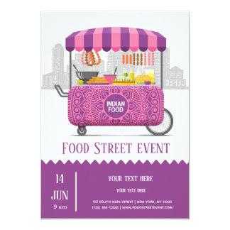 Food street indian food card
