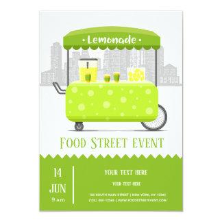 Food street lemonade card
