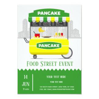 Food street pancake card