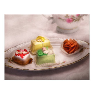 Food - Sweet - Cake - Grandma's treats Custom Flyer