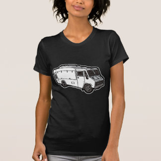 Food Truck: Basic (White) T-Shirt