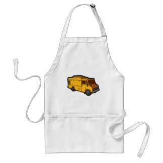 Food Truck: Basic (Yellow) Standard Apron