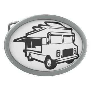 Food Truck Belt Buckle
