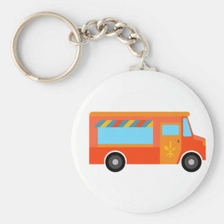 Food Truck Keychain