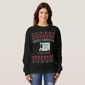 Food Truck Ugly Christmas Sweater