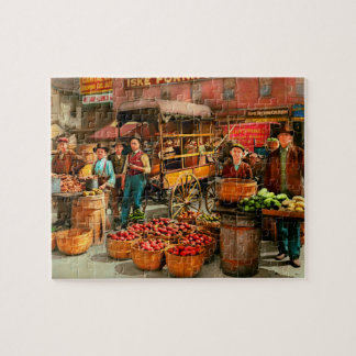Food - Vegetables - Indianapolis Market 1908 Jigsaw Puzzle