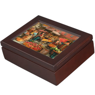 Food - Vegetables - Indianapolis Market 1908 Keepsake Box