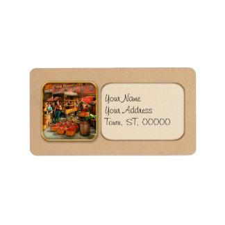 Food - Vegetables - Indianapolis Market 1908 Label