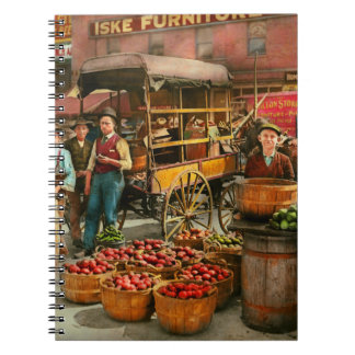 Food - Vegetables - Indianapolis Market 1908 Notebook