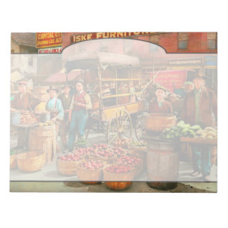 Food - Vegetables - Indianapolis Market 1908 Notepad