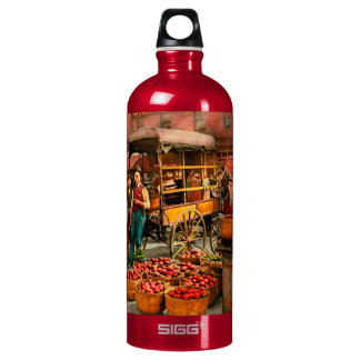 Food - Vegetables - Indianapolis Market 1908 Water Bottle
