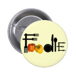 Foodie For Light Background Pin