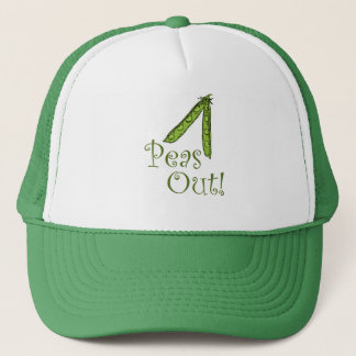 Foodie gifts Peas Out Trucker Hat